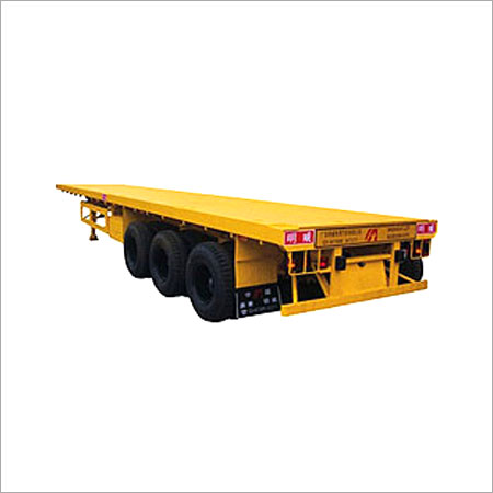 Flat Bed Container Trailers