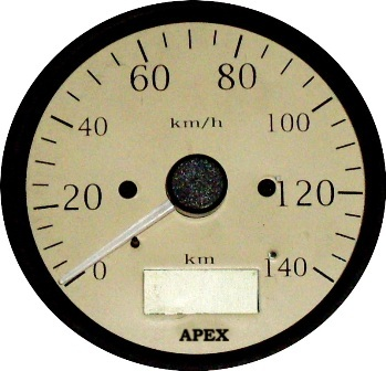 Electronic Speedometer With Digital Odometer