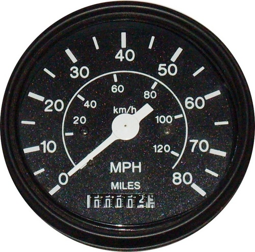 Electronic Speedometer With Analog Odometer
