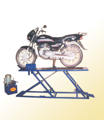Two Wheeler Service Ramps Exporter Manufacturer