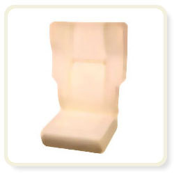 P U Foam Excative Bus Seat Pillow