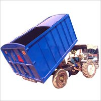Two Wheel Tipping Garbage Trailer Single Axel