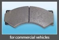 DISC BRAKE PADS FOR COMMERCIAL VEHICLES