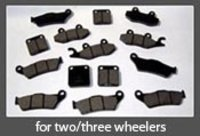DISC BRAKE PADS FOR TWO WHEELERS