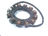 MOTORCYCLE ENGINE STATOR COIL