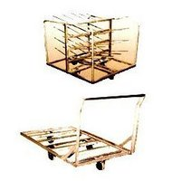Stainless Steel Steaming Trolley