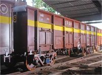 Industrial Covered Freight Car 
