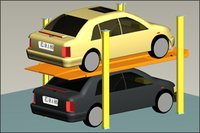 Double Deck Valet Car Parking System