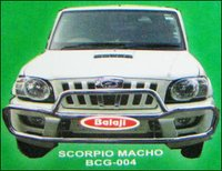 Car Front Safety Guards For Scorpio Macho