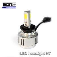 Car Led Headlights 12v 36w 3300lm H7