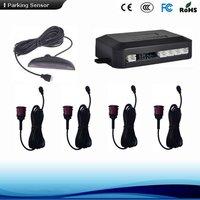 Universal Led Reverse Parking Sensor System 2/4/6/8 Sensors
