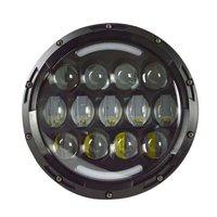 78W 7'' Halo Ring LED Headlight