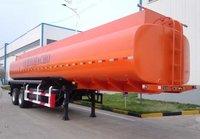 Tri-axles 30 CBM Capacity Fuel Oil Tanker Truck Trailer