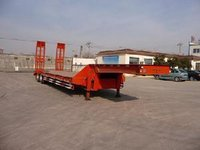 3 Axles 50 Tons 60 Tons Low Bed Truck Trailers