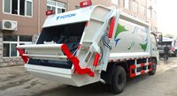 Rear Loader 6 Tons Garbage Collector / Compactor