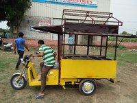 Electric Food Cart Rickshaws