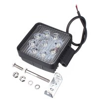5 inch Round 27w Waterproof IP67 Epistar Trucks Boat Tractor Trailers LED Work Light