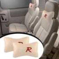 Type R Car Seat Neck Cushion Pillow - Beige Colour