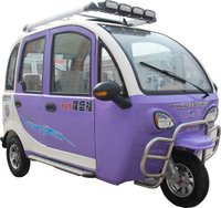 F-3 Purple And White Electric Tricycles