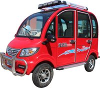 Electric Quadricycle (S-6 Ruby Red)