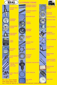 Auto Rickshaw Spare Parts