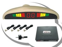 Car Reverse Parking System With Rainbow LED Green Yellow Red 3 Color Display
