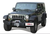 JK Wrangle Steel BLK Front Bumper