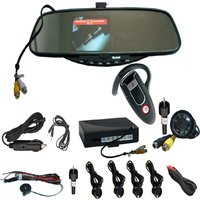 Car DVR Rearview Mirror DVR