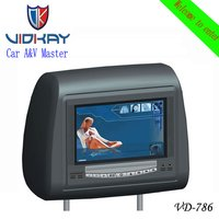 Car Headrest DVD Monitor