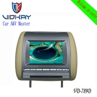 7 Inch Car Rearview DVD Monitor