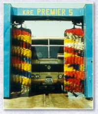 Commercial Vehicle Gantry Type Washing Machine