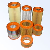 Round Orange Type Air Filters