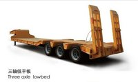 3-Axles Low-Bed Semi-Trailer