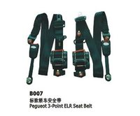 B007 Car 3 Point Elr Safety Seat Belt