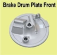 Brake Drum Plate Front