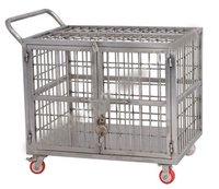 Ss Cage Trolley Shipper Trolley