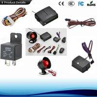 Remote Control Auto Car Security Alarm With Power Window Trigger