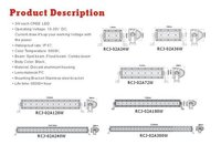 LED HeadLight Bar-RCJ-02A CREE