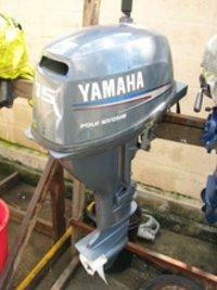 Used Yamaha 60hp 4-Stroke Outboard Boat Engine