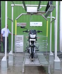 Automatic Two Wheeler Wash System
