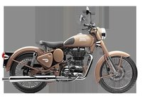 Classic Desert Storm Royal Enfield Motorcycle