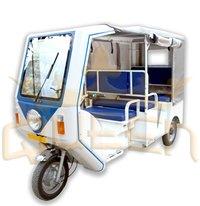 Smart 4 Seater Electric Rickshaws