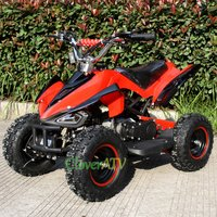 4 inch Wheel Kids Mini Moto Bike 49CC ATV Quad Motor with Mirror