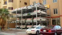 Puzzle Type Multi Level Car Parking System