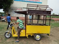 Electric Food Cart Rickshaws