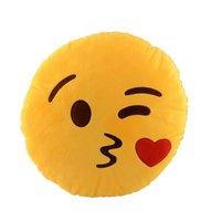 KISS Emoji Pillow Car Cushion