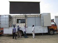 Hydraulic Advertising Mobile Vehicles