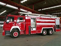 Howo High Jet Water Tower Fire Truck 18 M Jet