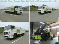 Heavy Duty Dongfeng Road Sweeper Trucks