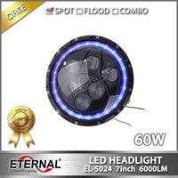 7 in 60W Round LED Headlight